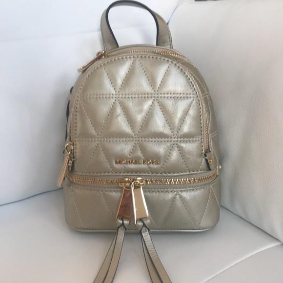 6be77419a079 Michael Kors Rhea Convertible Backpack